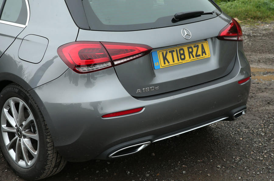 Mercedes-Benz A-Class 2018 long-term review - rear end