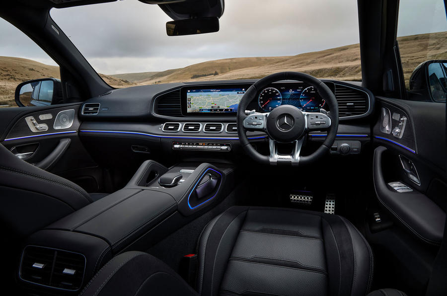 Mercedes-AMG GLE 53 2020 UK first drive review - dashboard