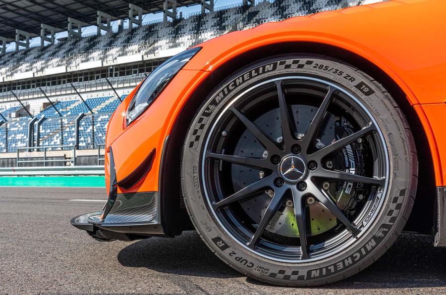 Mercedes-AMG GT Black Series 2020 : premier bilan de conduite - roues en alliage