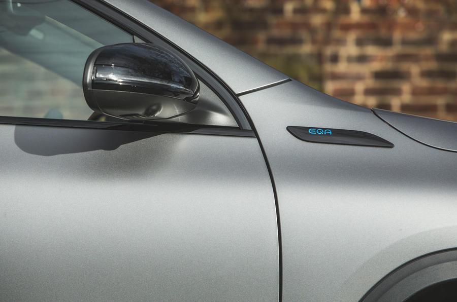6 Mercedes Benz EQA 2021 : premier rétroviseur de conduite au Royaume-Uni