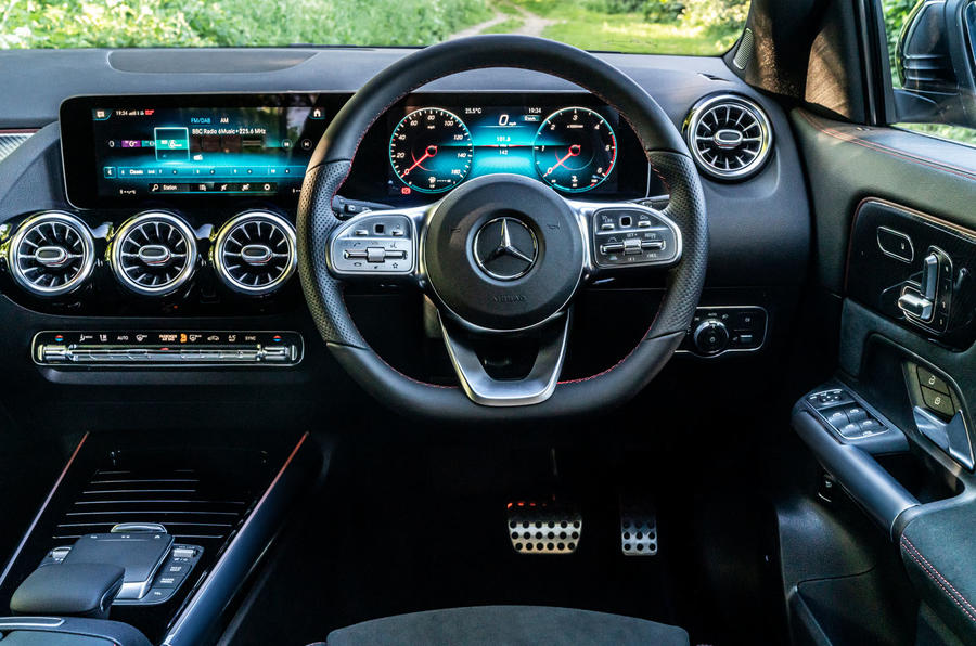 Mercedes-Benz GLA 220d 2020 UK first drive review - dashboard