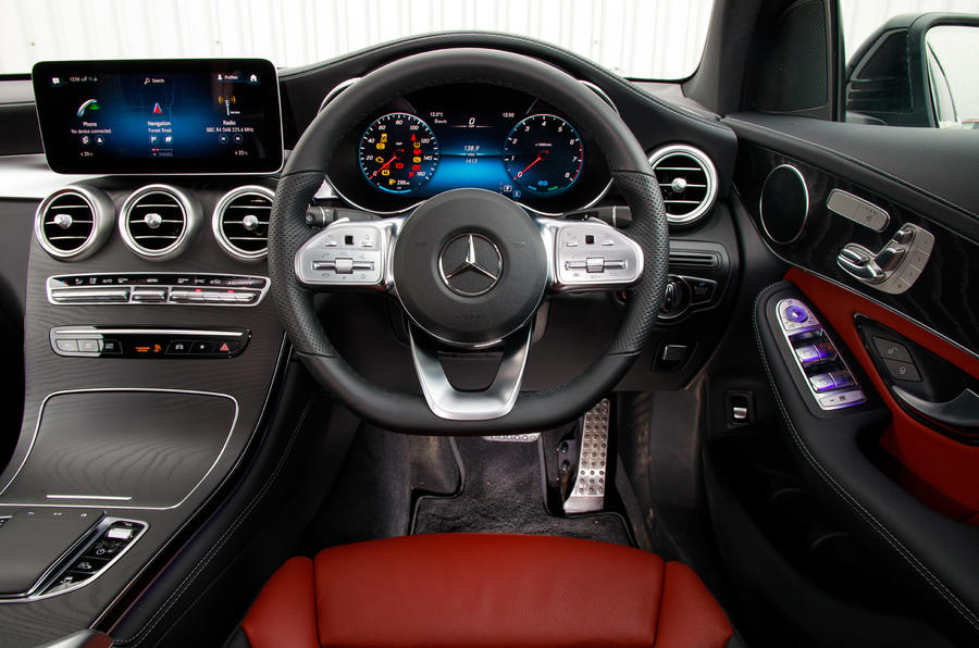 Mercedes-Benz GLC 300 Coupe 4Matic 2020 UK review | Autocar