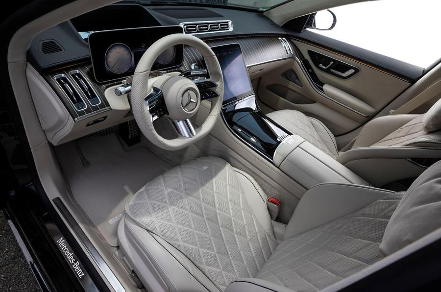 Mercedes-Benz S Class S580e 2020 first drive review - dashboard