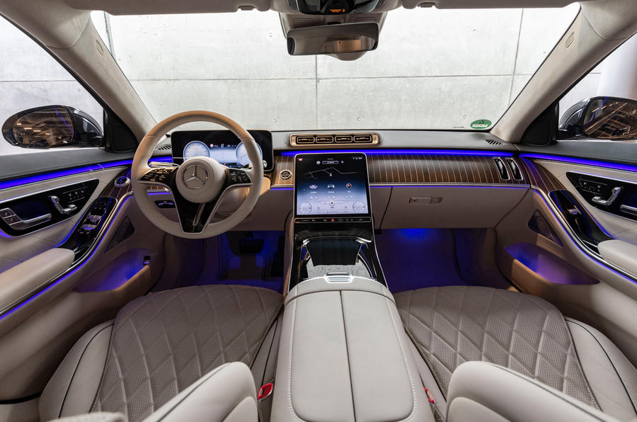 Mercedes-Benz S-Class S500 2020 first drive review - cabin