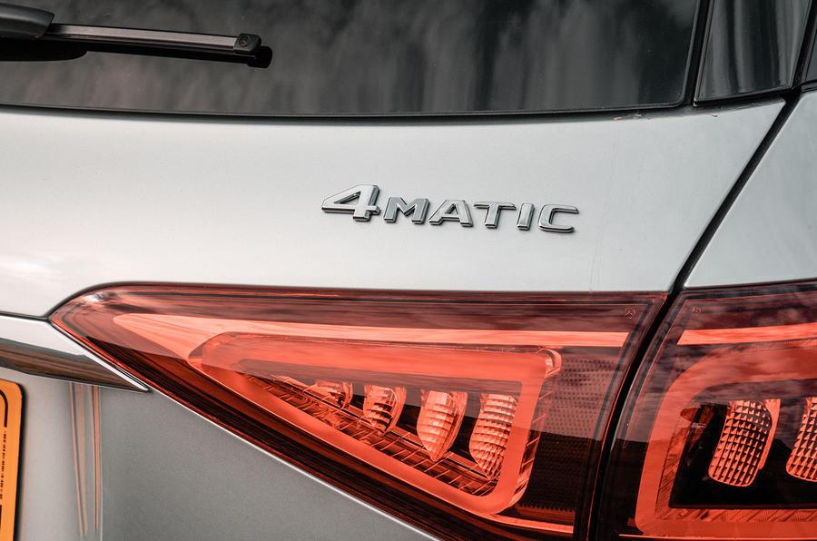 Mercedes-Benz GLE 400d 2019 UK first drive review - rear lights