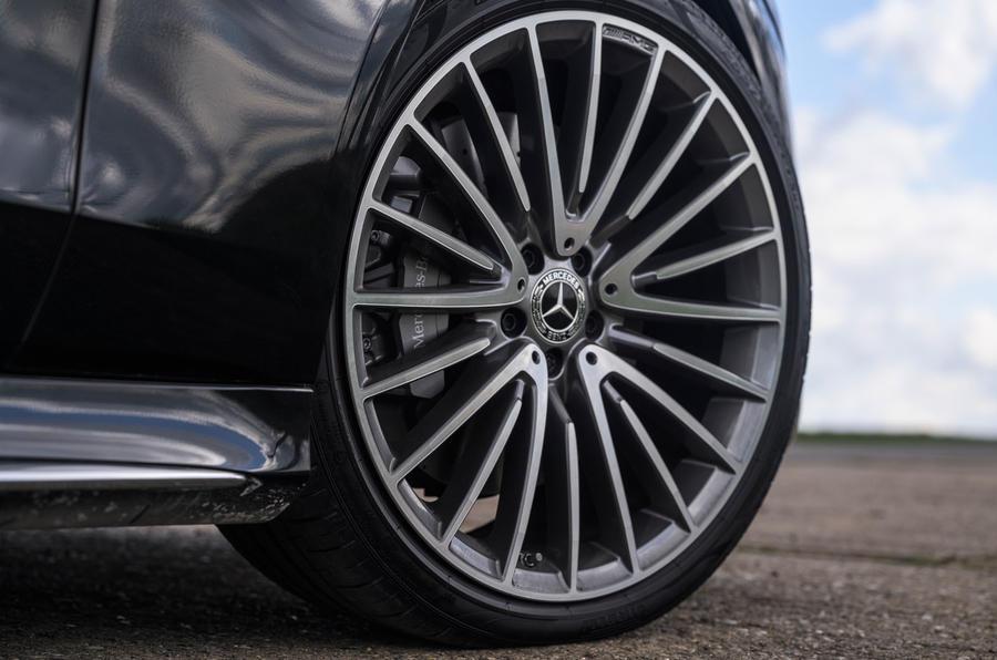 6 Mercedes Classe S S400d 2021 UE FD roues en alliage