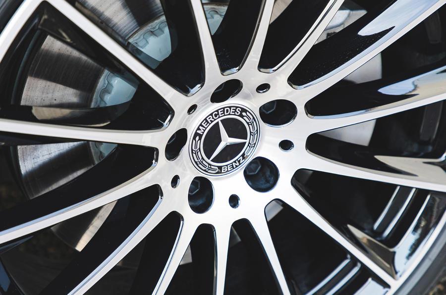 Mercedes S-Class S500 2020 (LHD) : premier examen de la transmission au Royaume-Uni - disques de frein