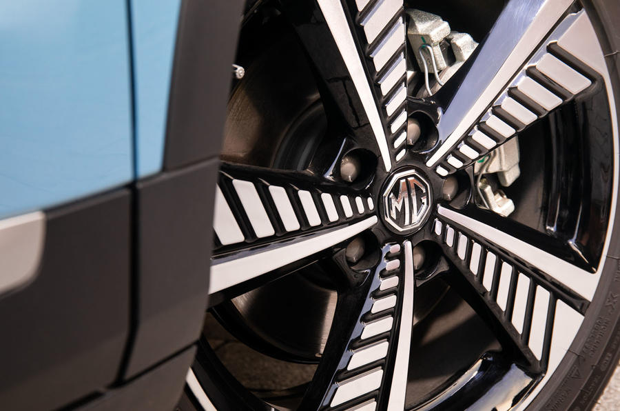 MG ZS EV 2019 UK first drive review - alloy wheels