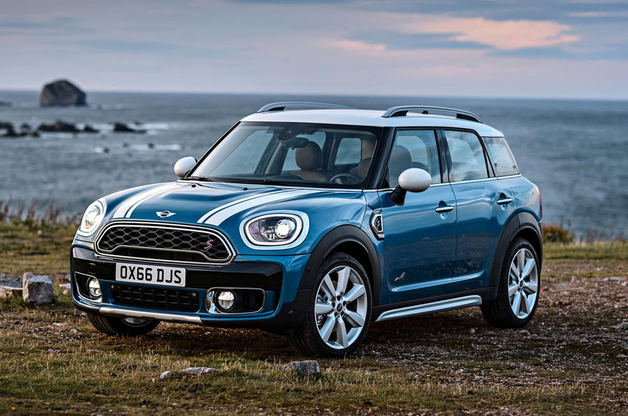 Mini Countryman - static front