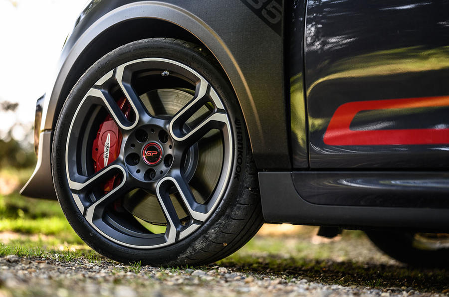 Mini JCW GP 2020 UK first drive review - alloy wheels