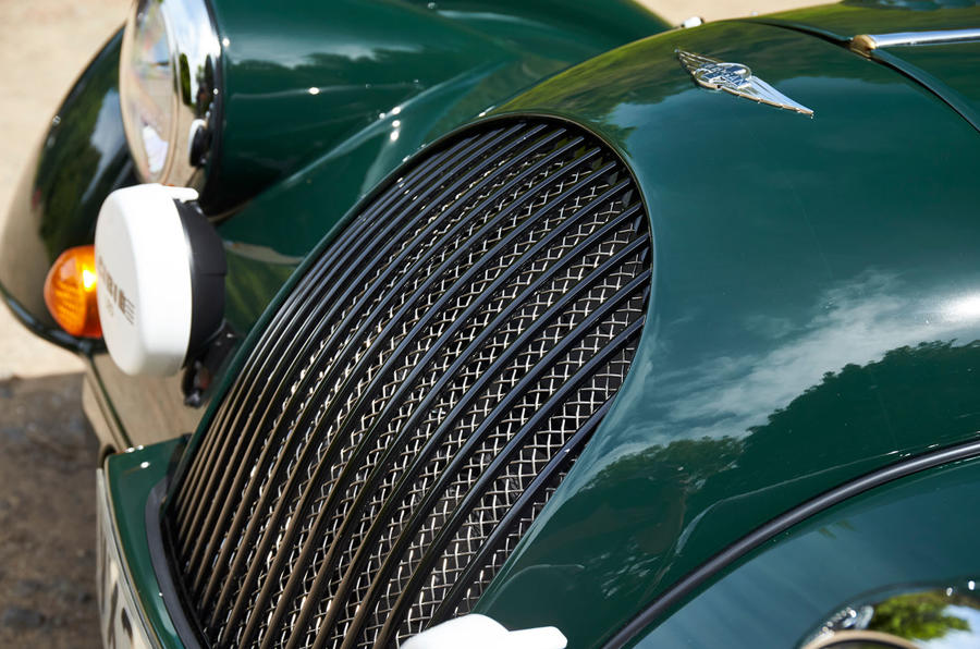 Morgan Plus Four 2020 UK first drive review - front grille