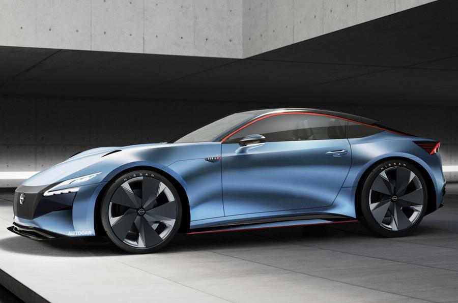 2021 Nissan 400Z - Autocar render