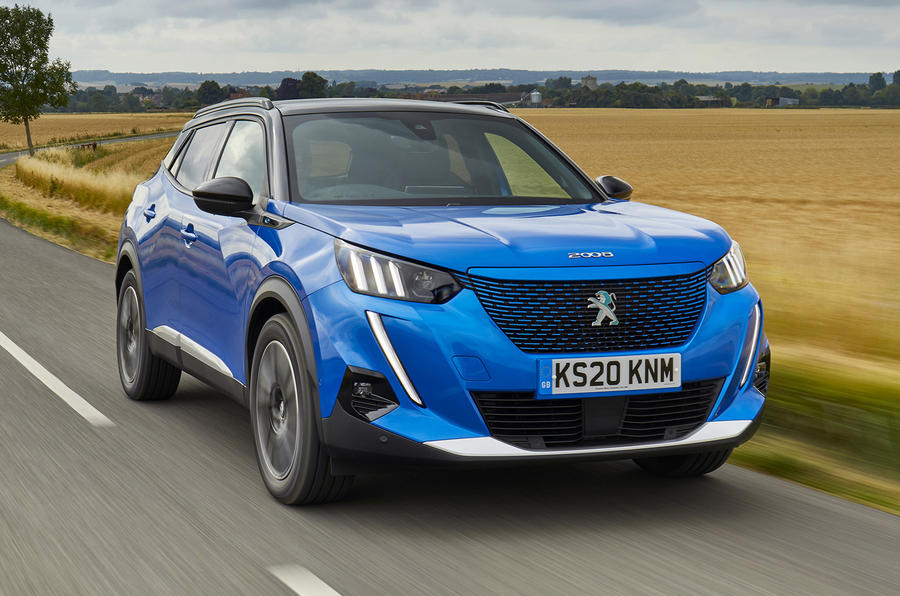 Peugeot e-2008 2020 UK first drive review - on the road front
