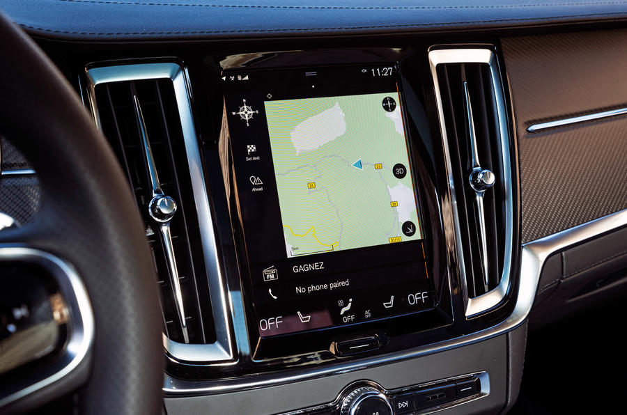 Polestar 1 - touchscreen