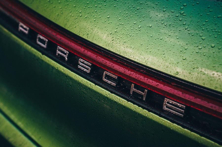 Porsche Macan 2019 first drive review - rear lightbar