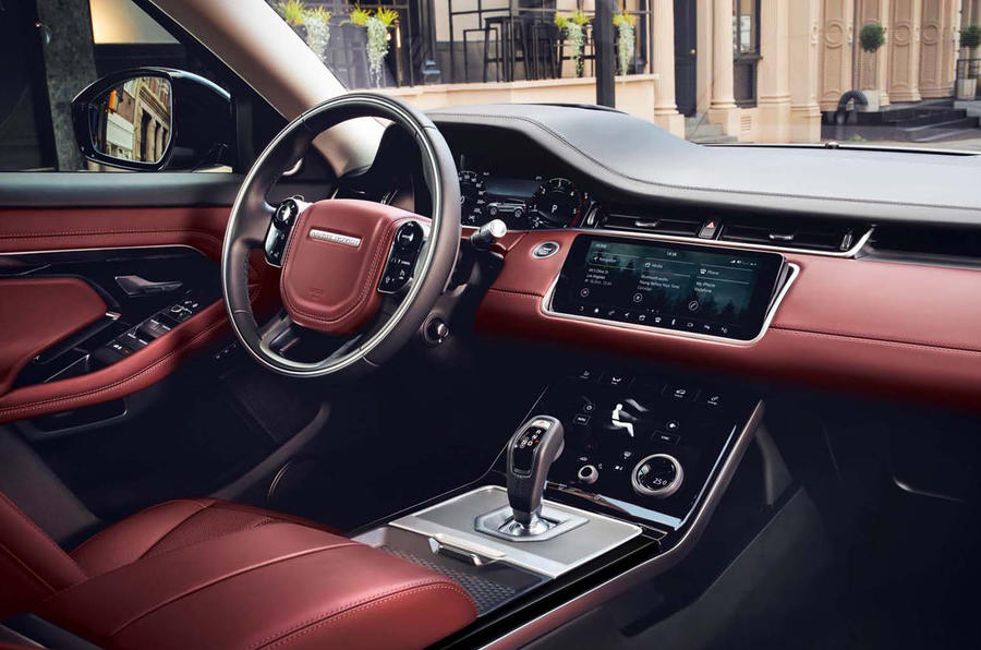 Range Rover Evoque 2019 official reveal - interior