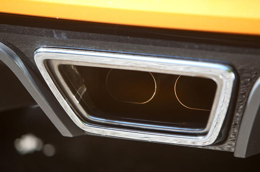 Renault Megane RS 2018 UK first drive exhaust