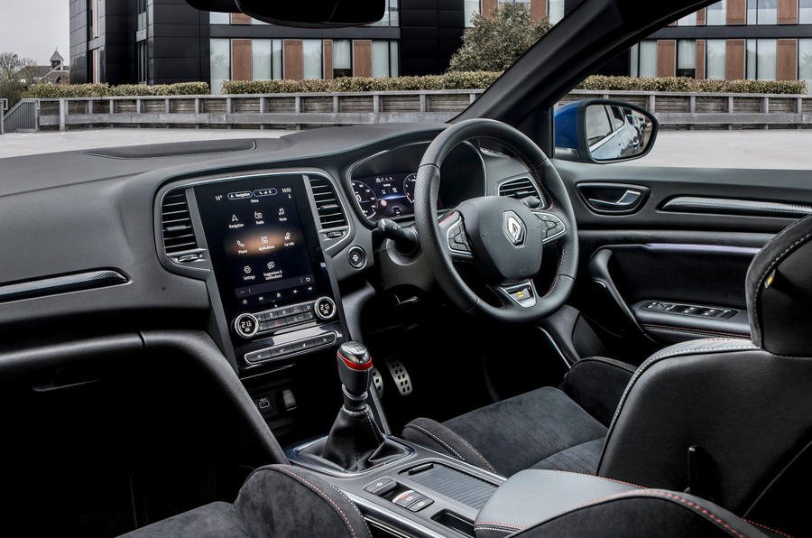 Renault Megane Sport 2020 UK first drive review - dashboard