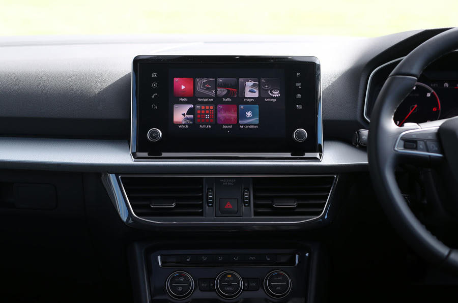 Seat Tarraco 2019 UK first drive review - infotainment