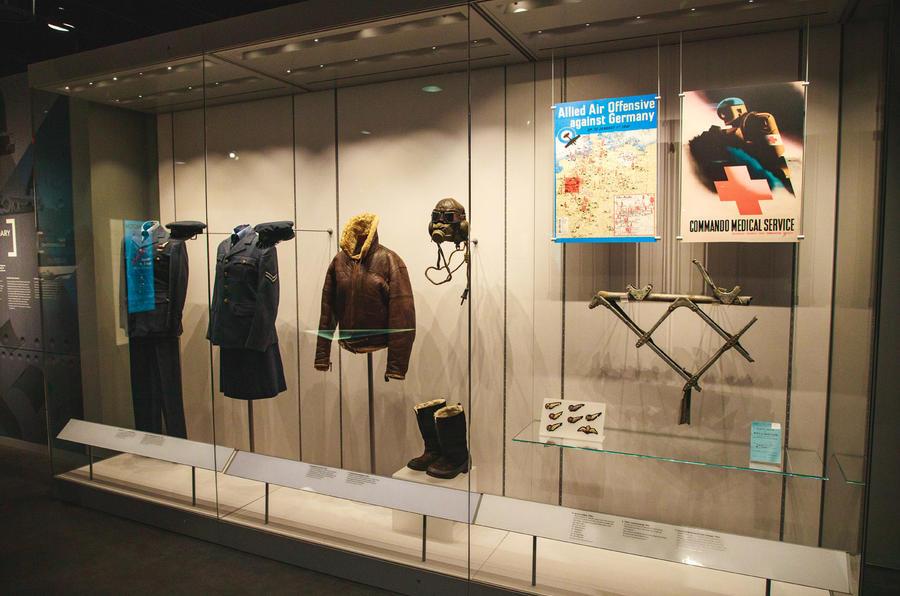 Silverstone WW2 history display - aviation