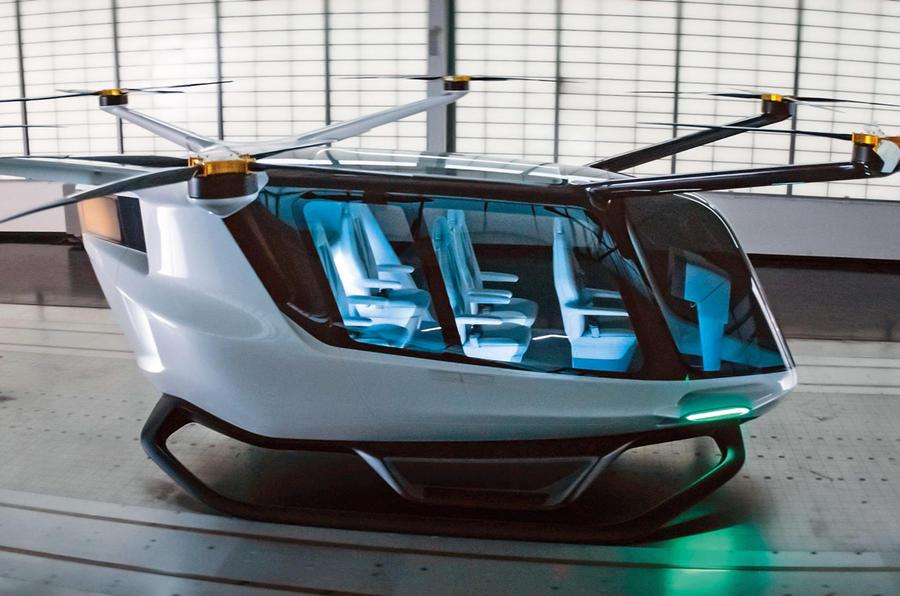 Skai passenger drone - static side