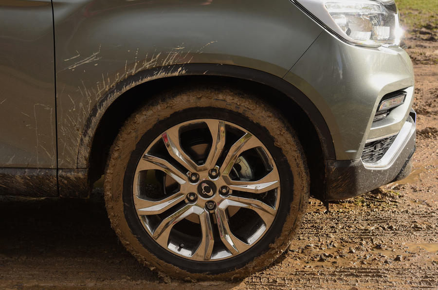 Ssangyong Rexton longterm review offroad muddy wheels