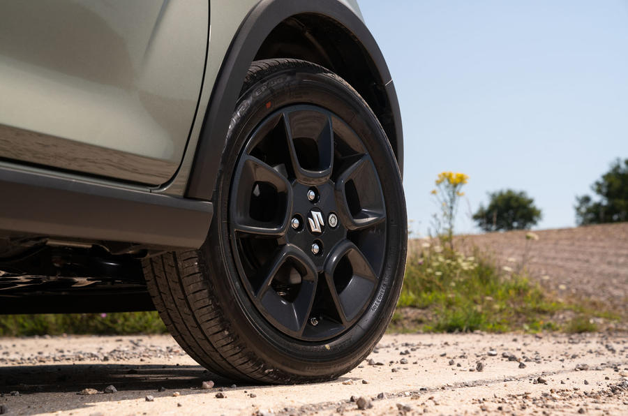 Suzuki Ignis hybrid 2020 UK first drive review - alloy wheels