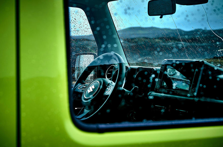 Suzuki Jimny 2018 first drive review cabin