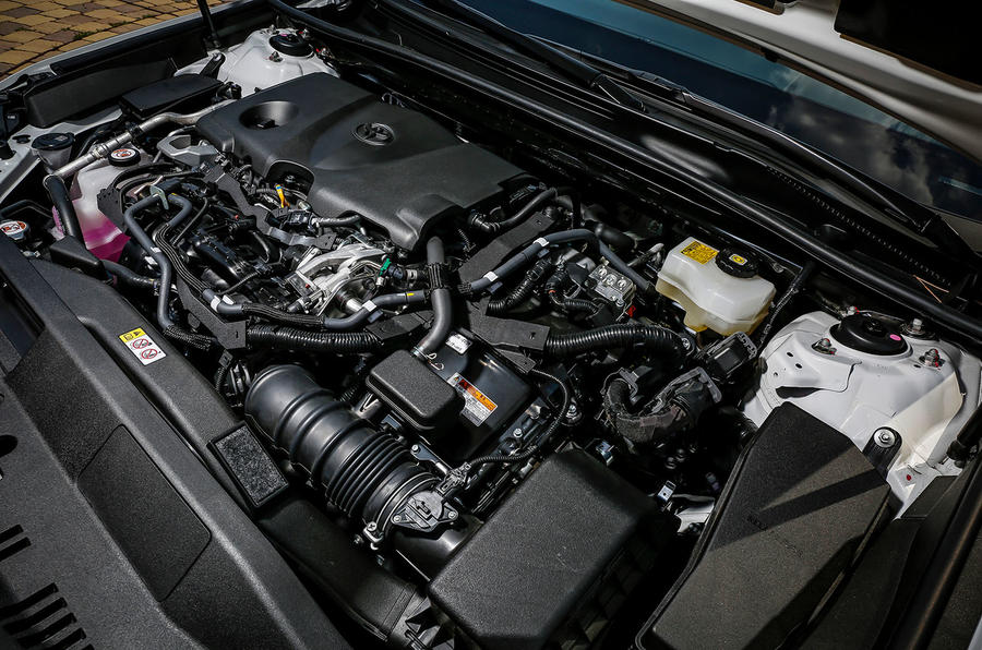 Toyota Camry 2019 first drive review engine