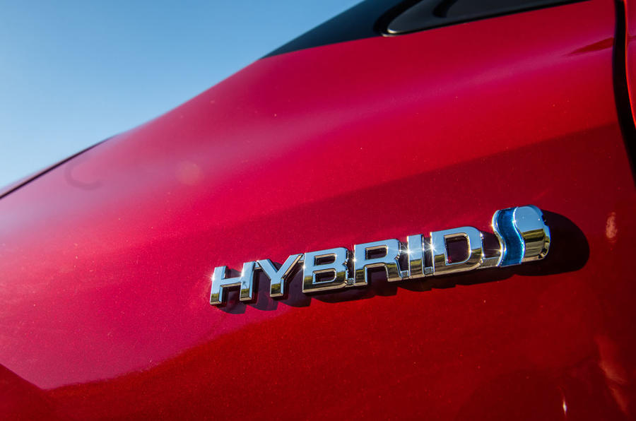 Toyota Corolla hybrid hatchback 2019 first drive review - hybrid badge