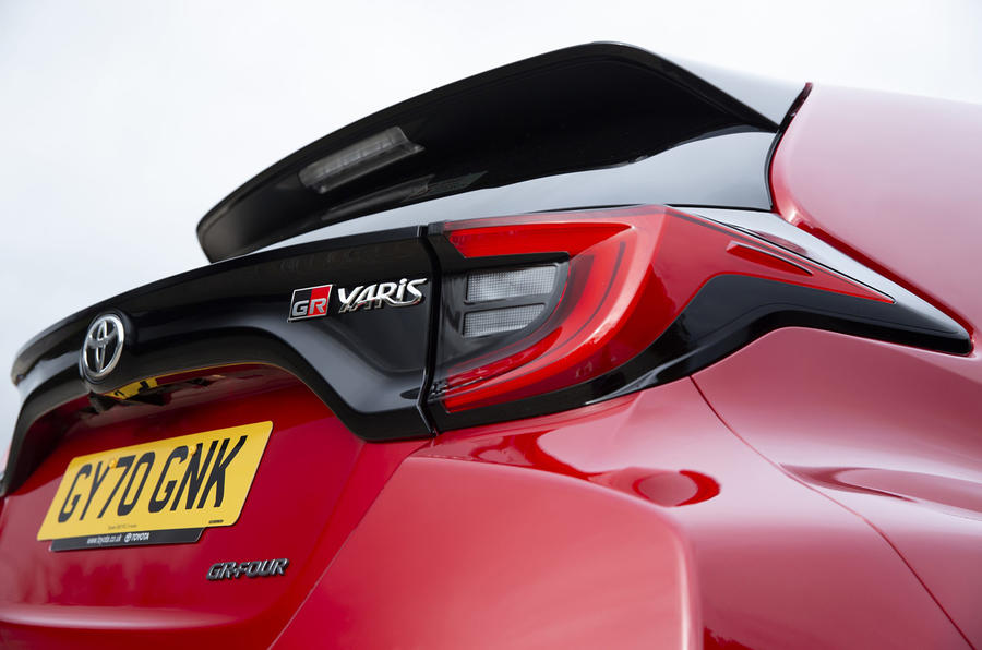 Toyota GR Yaris 2020 UK first drive review - spoiler