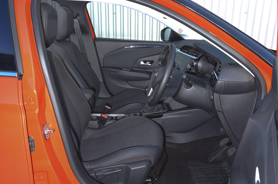 Vauxhall Corsa 2019 UK first drive review - cabin