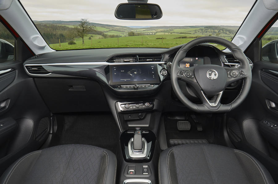 Vauxhall Corsa-e 2020 UK first drive review - dashboard