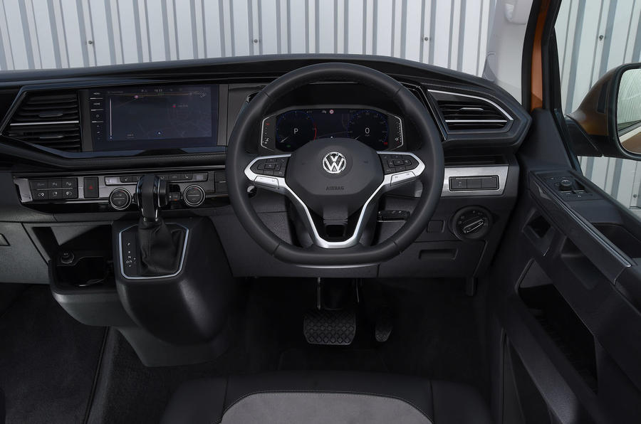 Volkswagen Caravelle 2020 UK first drive review - dashboard