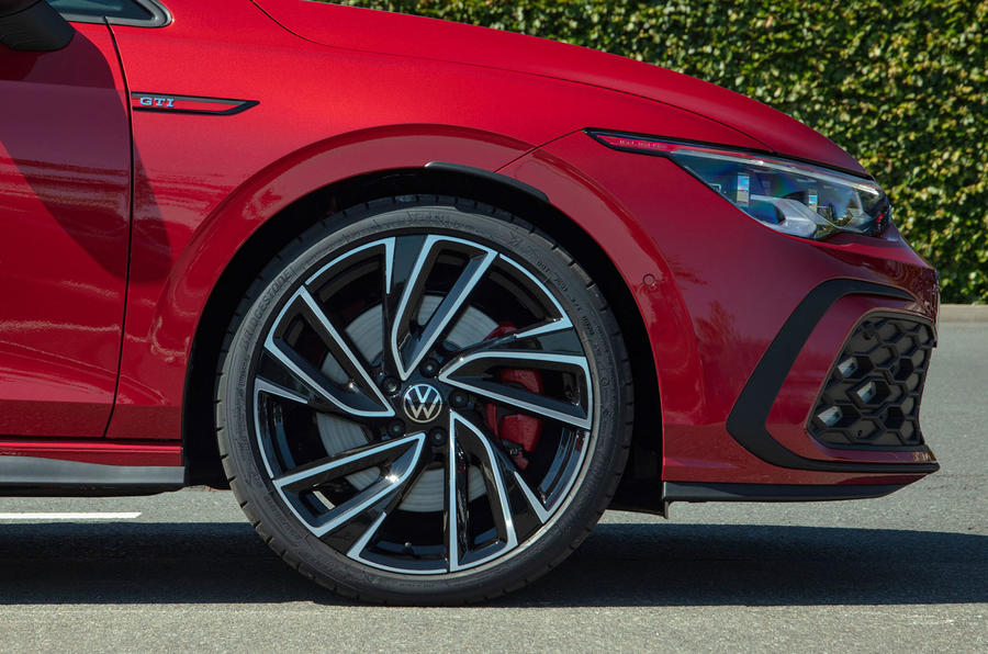 Volkswagen Golf GTI 2020 UK first drive review - alloy wheels