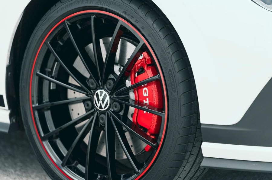 6 Étriers de frein Volkswagen Golf GTI Clubsport 45 2021 UE FD