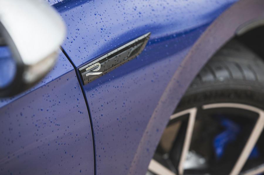 6 Volkswagen Golf R performance pack 2021 UE FD autocollants latéraux
