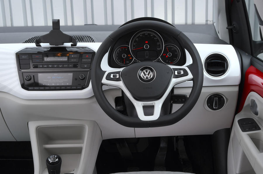 Volksawgen Up 1.0 2020 UK first drive review - dashboard