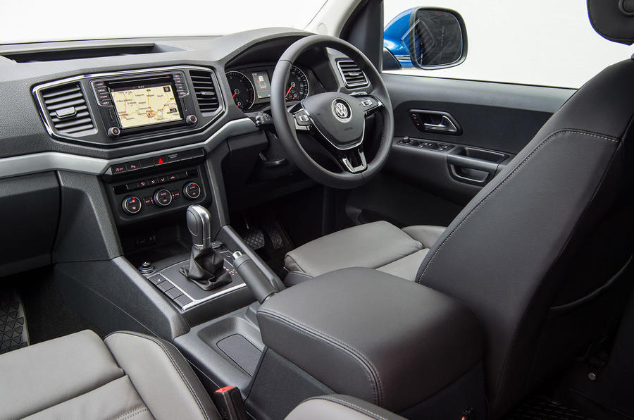 Volkswagen Amarok V6 2018 UK review cabin