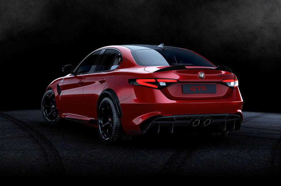 Alfa Romeo Giulia GTA 2020 - stationary rear
