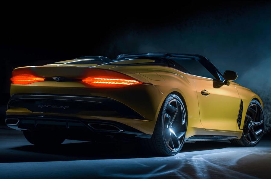 Bentley Bacalar 2020 - stationary rear