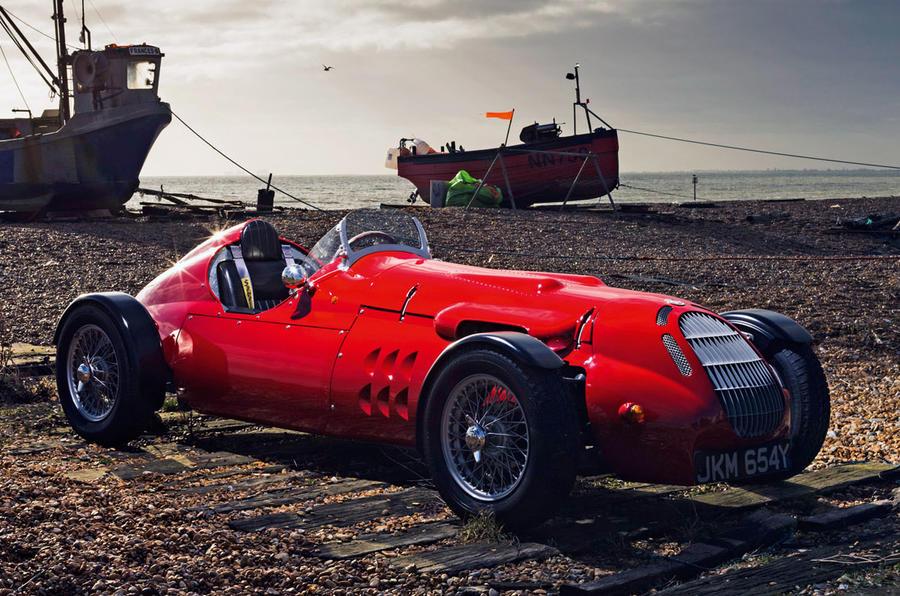 John Nash kit car 2020 - stationary front