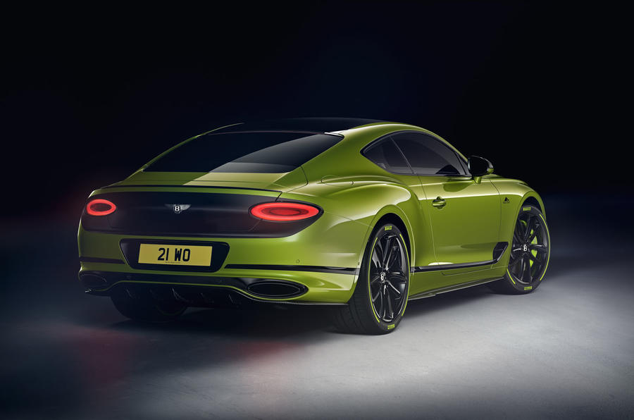 2019 Bentley Continental GT W12 Pikes Peak edition