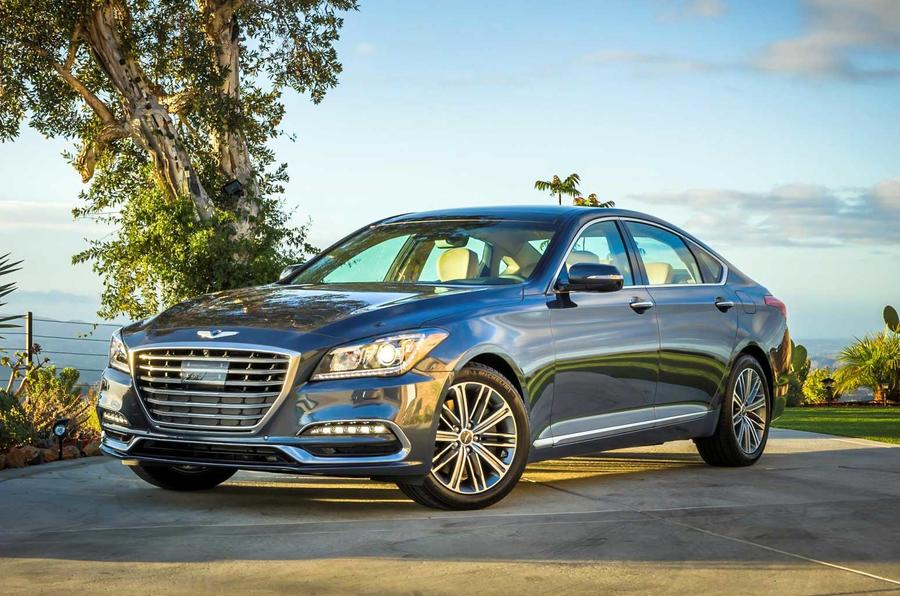 Genesis G80 3.3T Sport revealed in Los Angeles