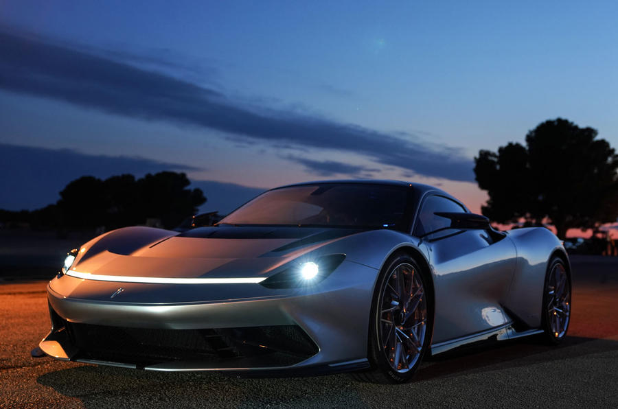 Pininfarina Battista 2019 first drive review - static nose