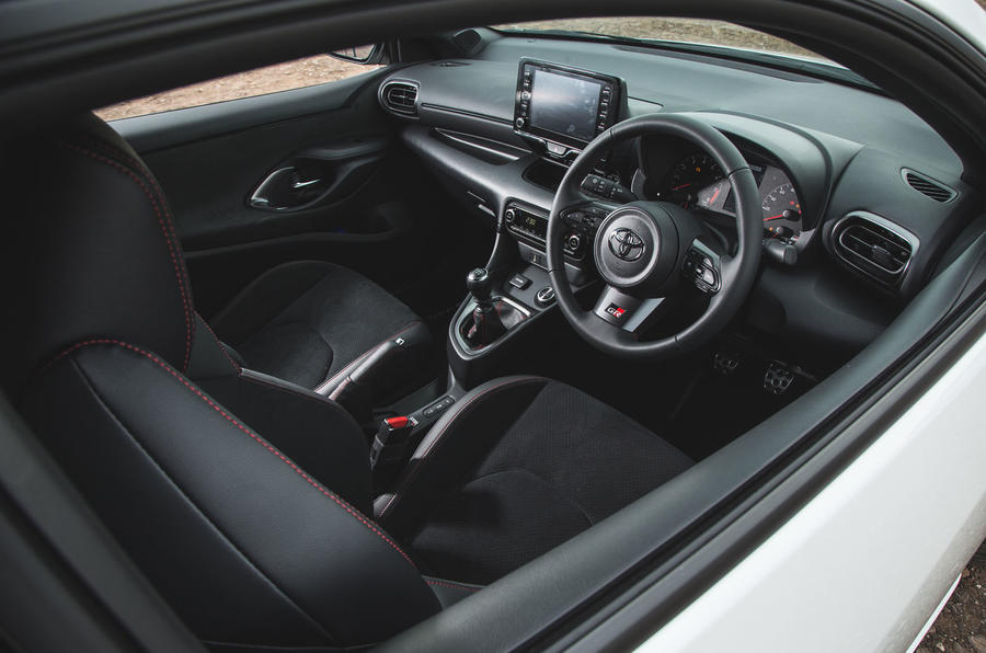 Britain's best affordable drivers car 2020 - Toyota GR Yaris - interior