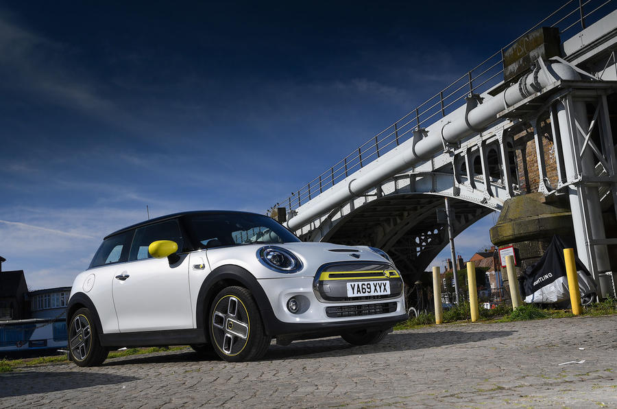 a month with a Mini Electric - static