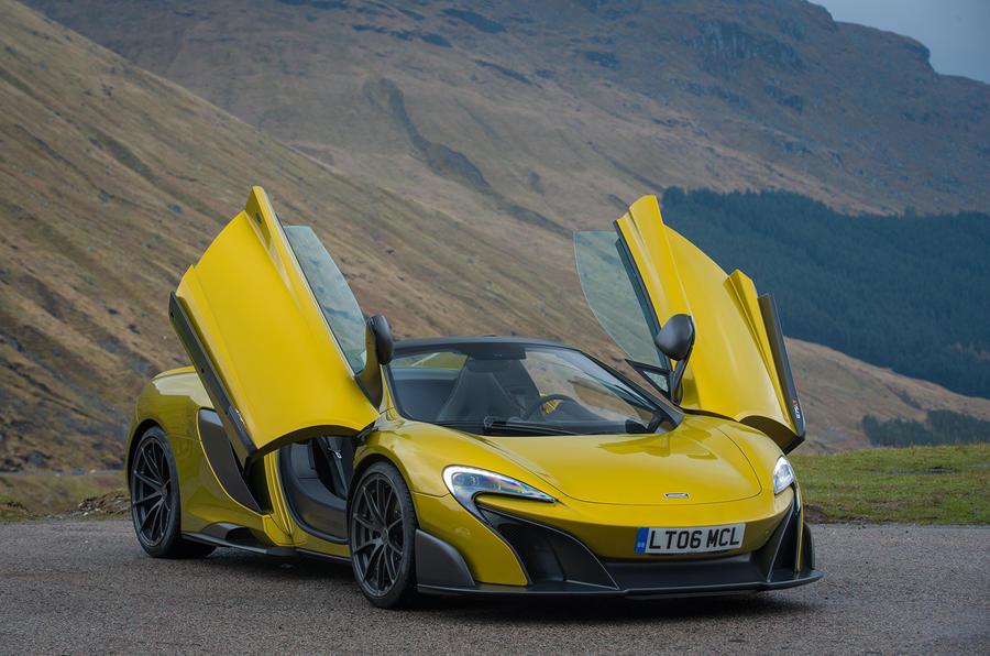 2016 McLaren 675LT Spider review review | Autocar
