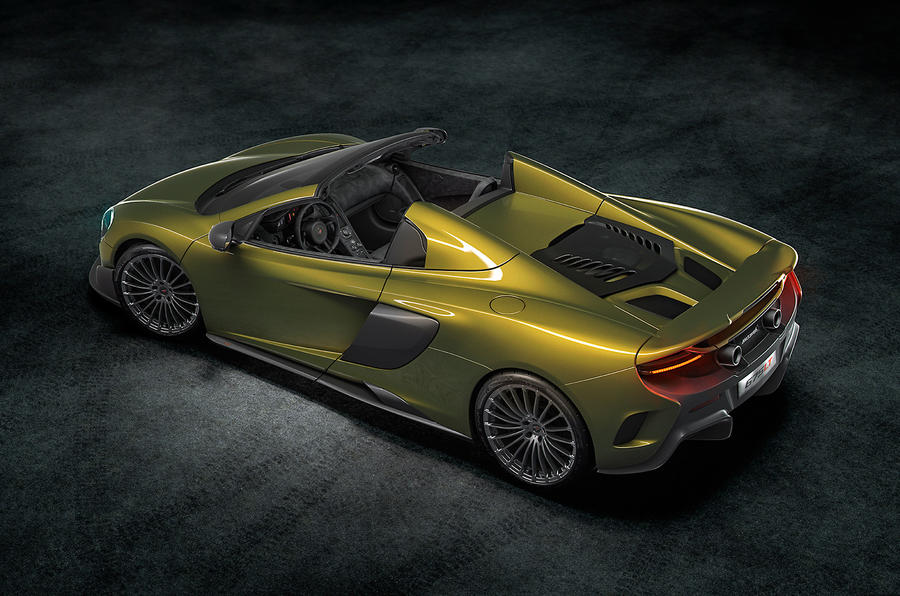 2016 Mclaren 675 Lt Spider Revealed Autocar
