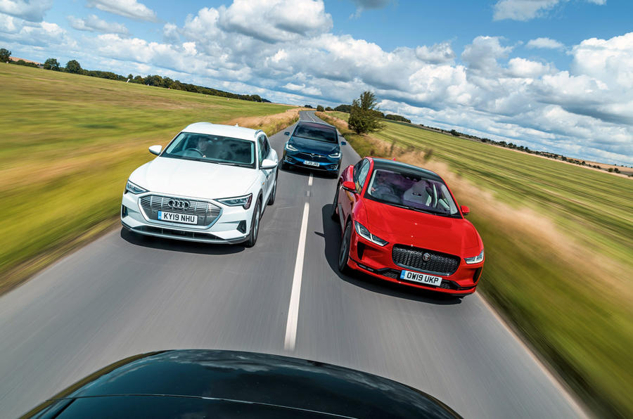 Used EVs feature - Audi, Jaguar and Tesla